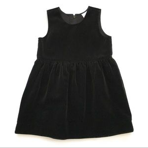 Girls 90/ 3T Hanna Andersson Velvet Dress